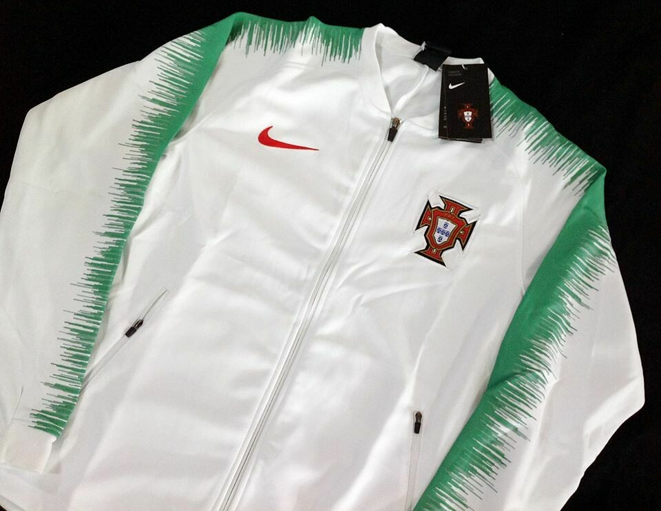 PORTUGAL AWAY WC 2018 JACKET PORTOGALLO GIACCA
