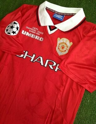 MAN UTD HOME UCL WINNER 1999-2000 (2 STARS)
