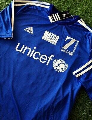 UNICEF MATCH FOR CHILDREN 7 DAVID BECKHAM # FIGO TEAM