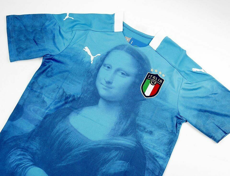 ITALY HOME EURO 2020 MONALISA CONCEPT ITALIA