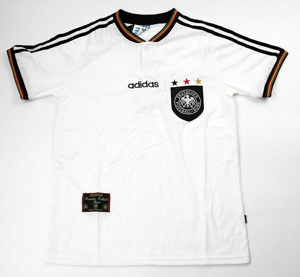 GERMANY HOME EURO 1996 GERMANIA MAGLIA EUROPEI 1996