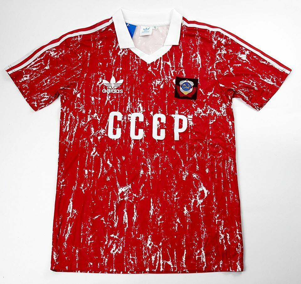 SOVIET UNION HOME 1989-1991 UNIONE SOVIETICA 89 91
