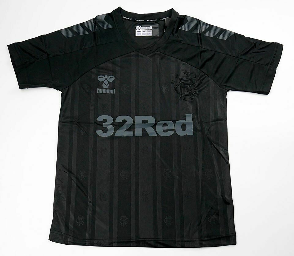 RANGERS BLACK OUT 2019-2020 MAGLIA JERSEY