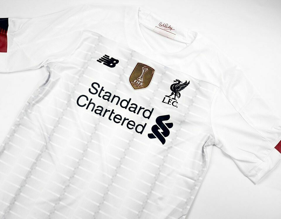LIVERPOOL MAGLIA TRASFERTA JERSEY AWAY 2020 FULL PATCHES