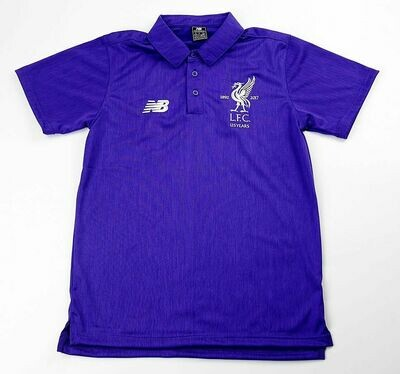LIVERPOOL POLO PURPLE 125 YEARS POLO LIVERPOOL 125 ANNI