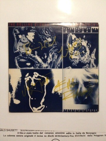 Rolling Stones signed record Autografi Rolling Stones Signed Record Autograph
