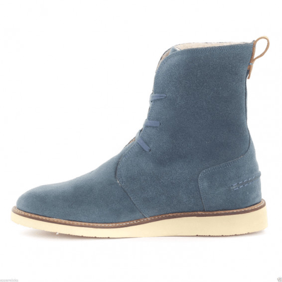 Lacoste Women's Baylen Lace Up Boot High Shaft Suede Faux Fur Lining