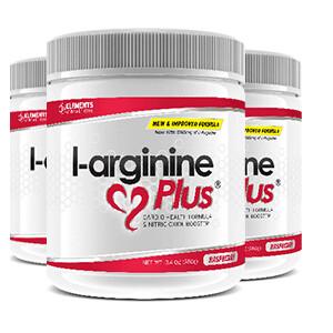 3 x tubs of L-Arginine Plus™ (90 day supply) – Grape Lime/Lemon & Raspberry Flavours