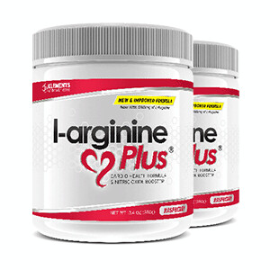 2 x tubs of L-Arginine Plus™ (60 day supply) – Choice of Lemon Lime, Raspberry or Grape Flavours