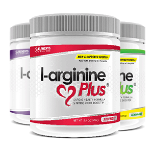 3 x tubs of L-Arginine Plus™ (90 day supply) – Grape Lime/Lemon & Raspberry Flavours