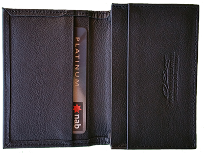 KANGAROO CARD WALLET BLACK