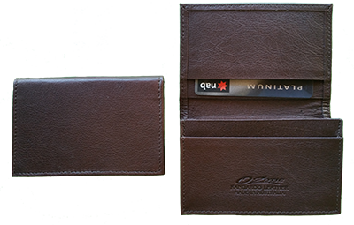 KANGAROO CARD WALLET BROWN