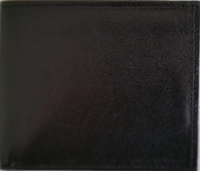 KANGAROO FLAP WALLET - BLACK