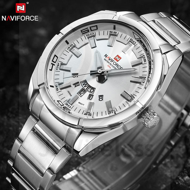 Men Watches Luxury Sport Quartz 30M Waterproof Stainless Steel