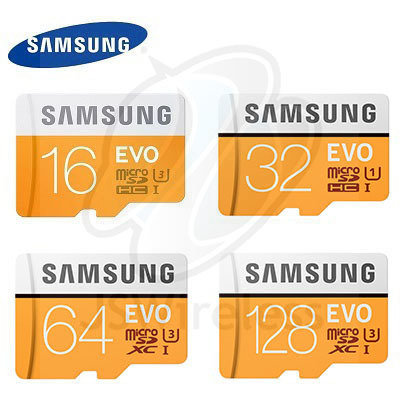 SAMSUNG Micro SD Card Class 10 U3  SDHC/SDXC 16GB, 32GB, 64GB, 128GB, 256GB