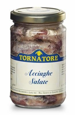 Acciughe salate 230 gr.
