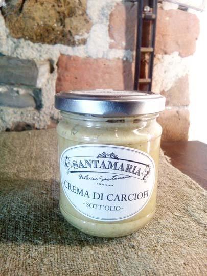 Crema di carciofi 180 gr
