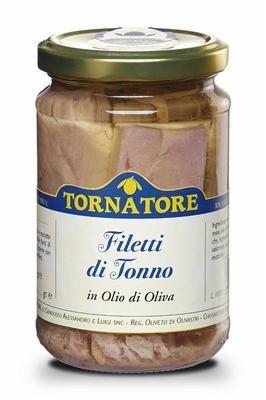Filetti tonno in olio 185 gr.