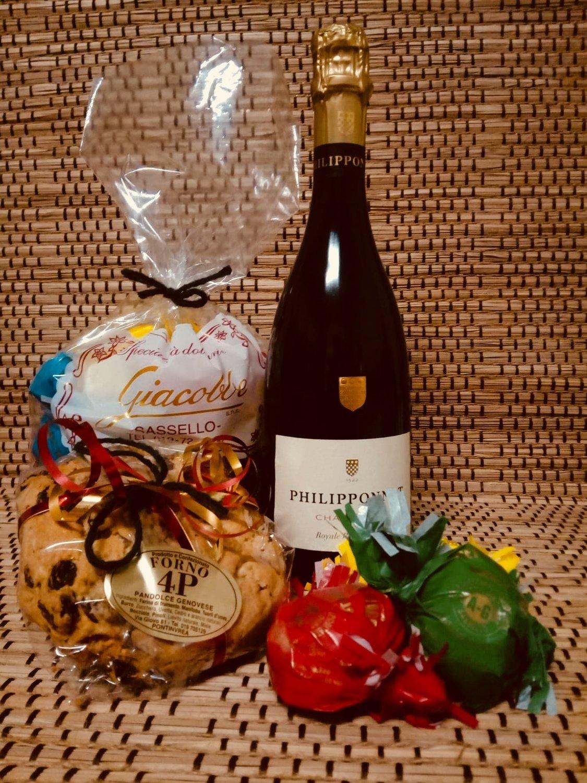 Cassetta Brindisi con Champagne
