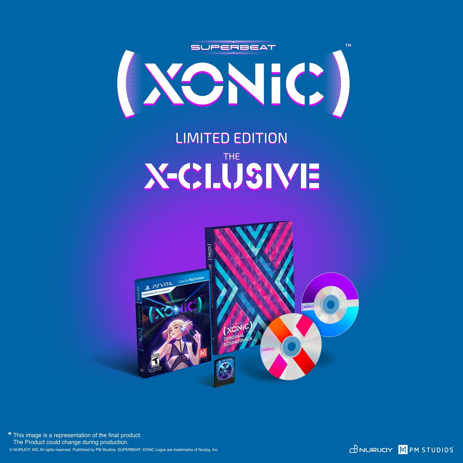SUPERBEAT: XONiC The X-CLUSIVE Limited Edition
