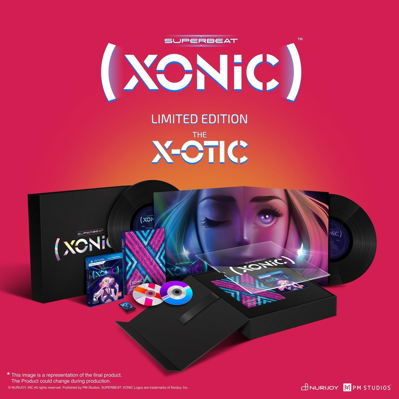 SUPERBEAT XONiC: The X-OTIC Limited Edition