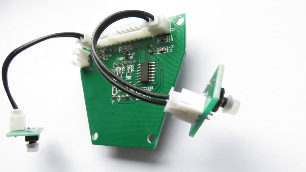 GTX  Handle Circuit board rear