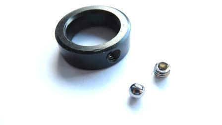 Axle ring for gearbox connection