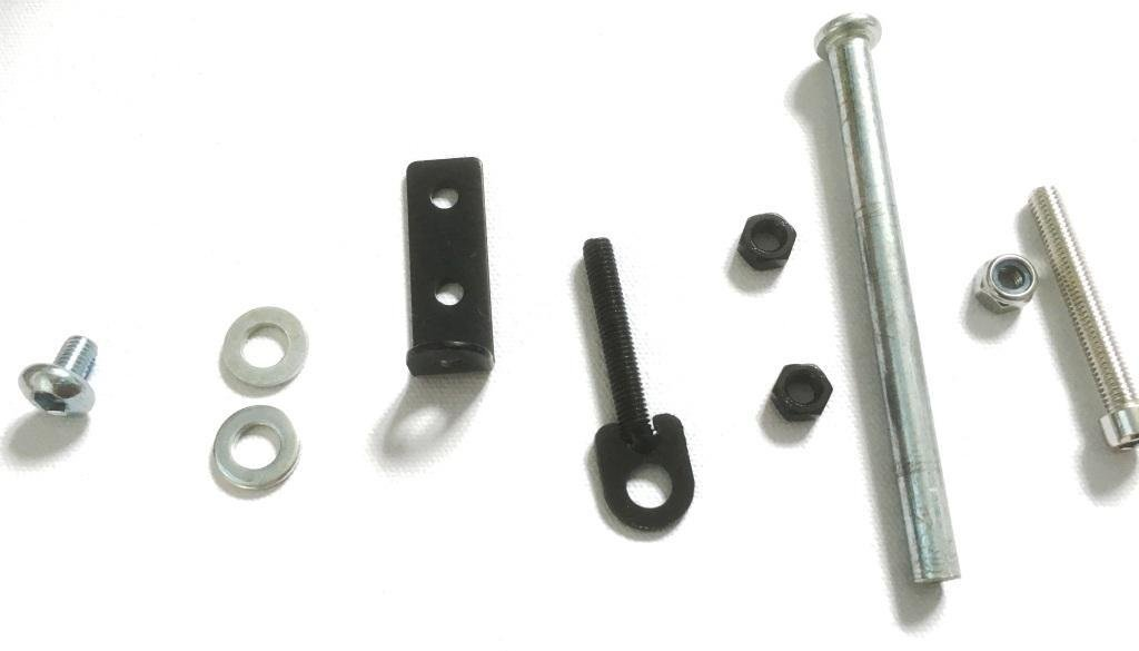 Front wheel Axle spindle bolt fits Precision Pro Rider and others 117