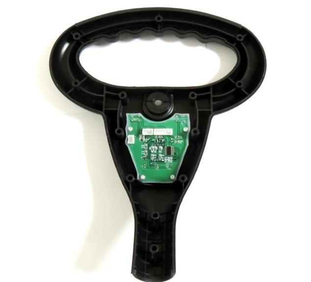 front inside of round handle with PCB D-64186