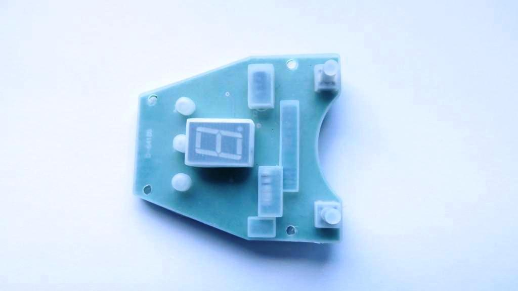 Stowamatic Handle Circuit includes sealed protected rubber cover