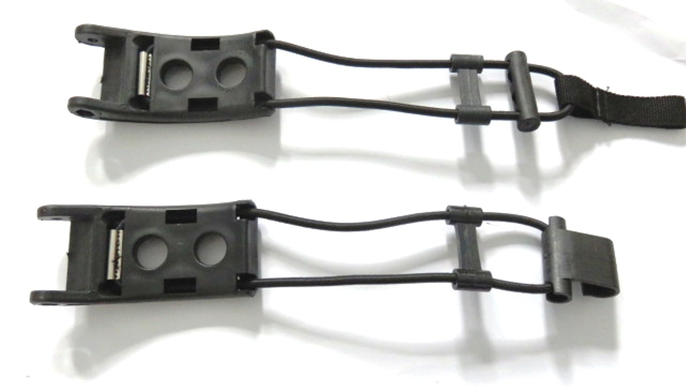 Left and Right pair of upper bag support elastics
