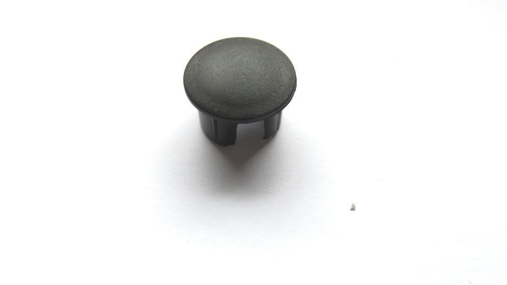 Electric golf trolley frame cap
