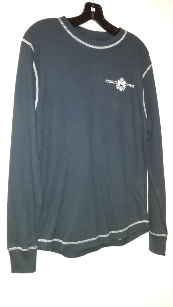 Long Sleeve Thermal with Contrast Stitch