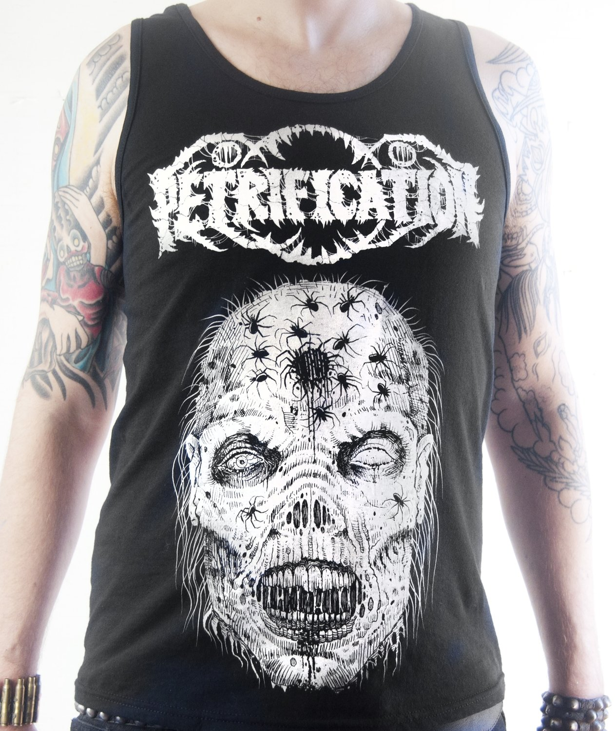 Petrification 'Arachned' Tank Top