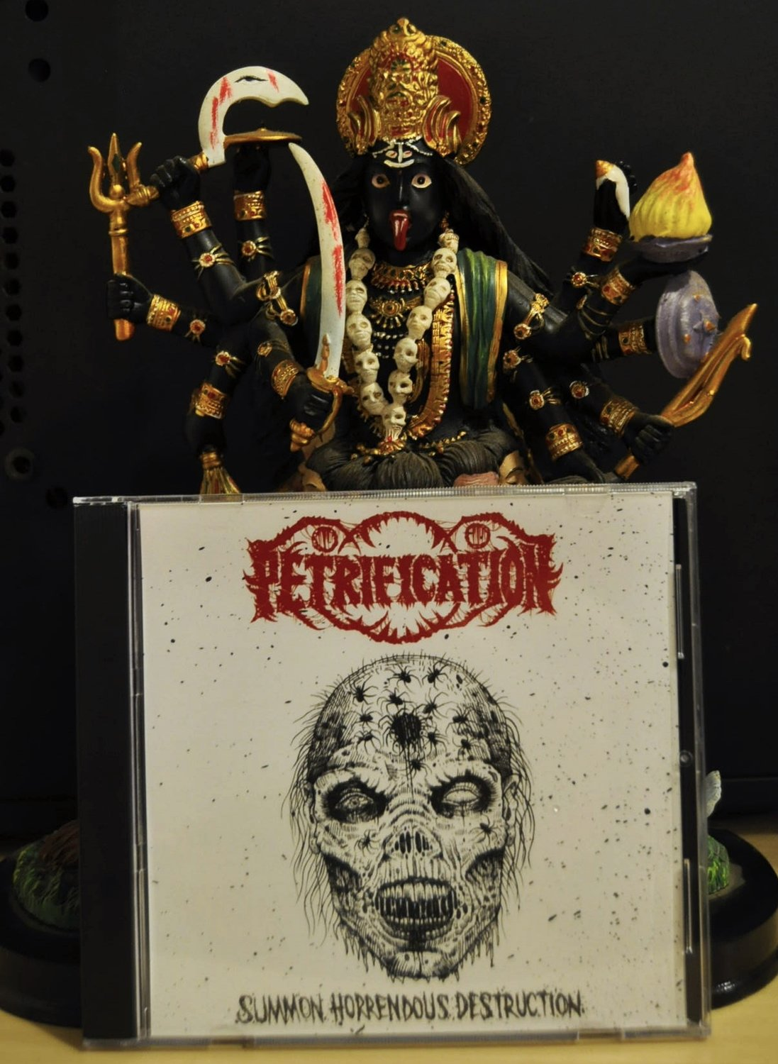 Petrification 'SUMMON HORRENDOUS DESTRUCTION' CD