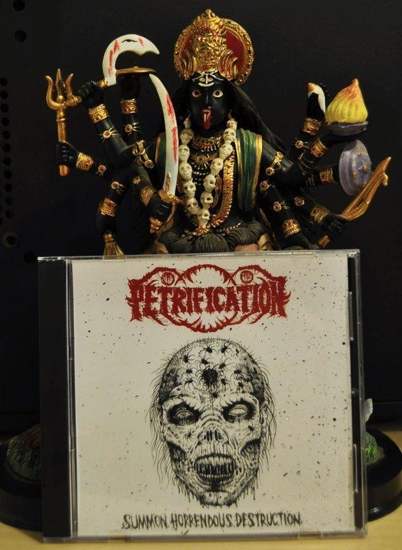 Petrification 'SUMMON HORRENDOUS DESTRUCTION' CD