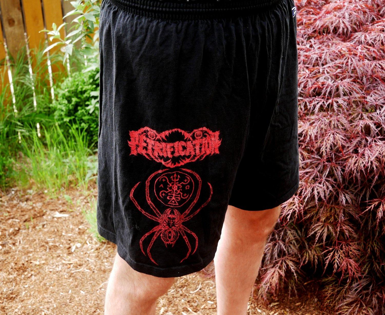 Petrification 'Spider' shorts