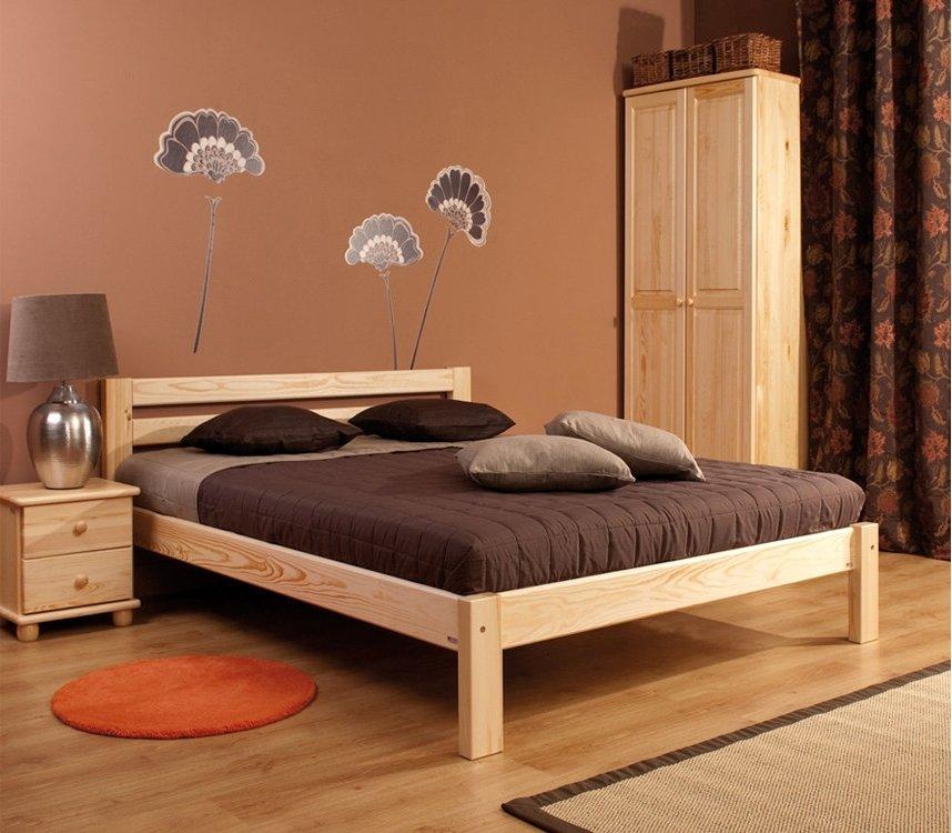 М10002 Кровать классика/1 NEW (без-изножья)