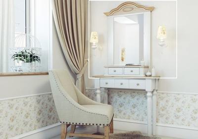 (арт.4418) Зеркало-Полка Хельсинки  Ш70*В100*Г18