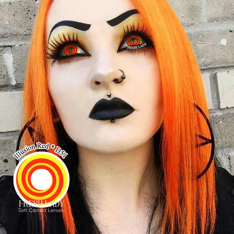 Illusion Orange Spiral