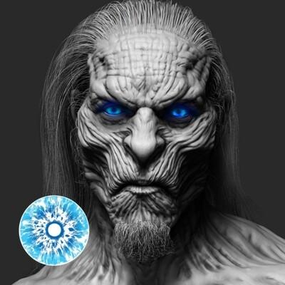 Games of Throne White Walker UV lens