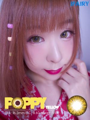 Poppy Yellow Brown