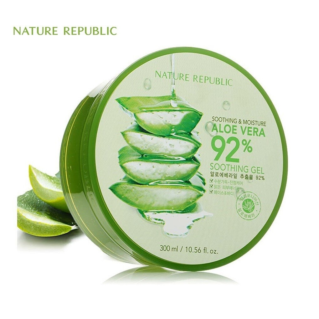 Others - Nature Republic Aloe Vera Soothing Gel (300ml)