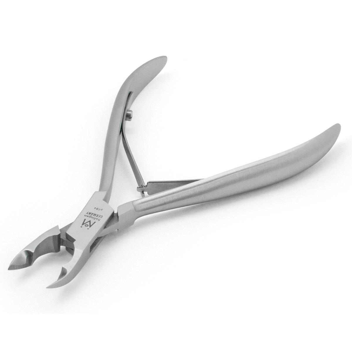 Convex ingrown toenail nipper