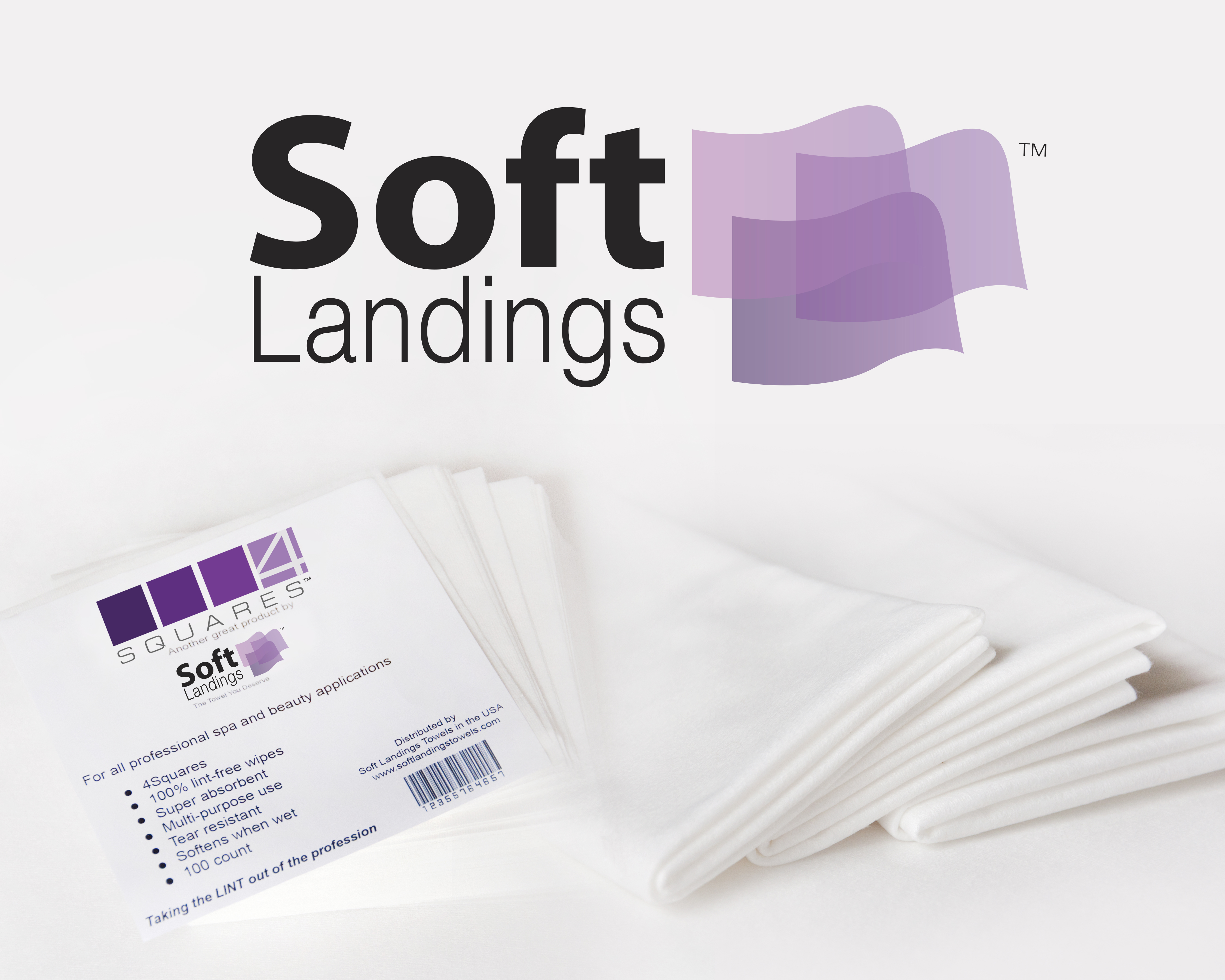 Soft landing towel roll 11 x 16 100 YA-110-P