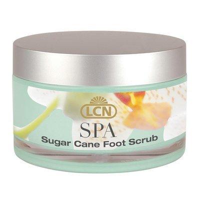 Sugar cane foot scrub