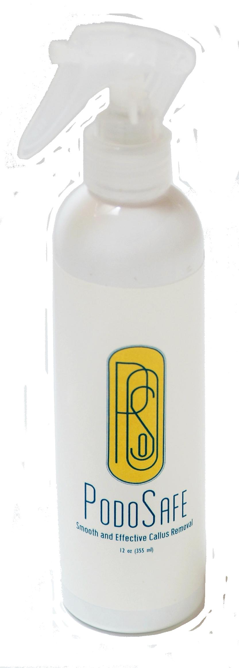 PodoSafe Callus Spray 12 oz Po01