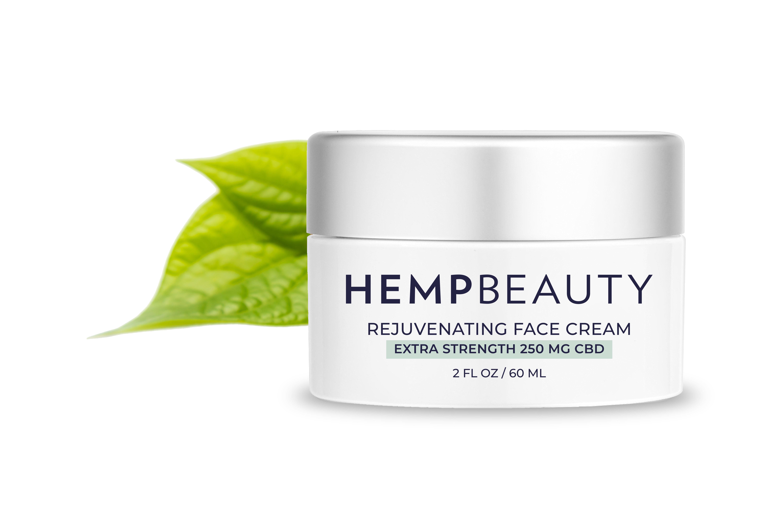 CBD Rejuvenating Face Cream CBDFC2oz