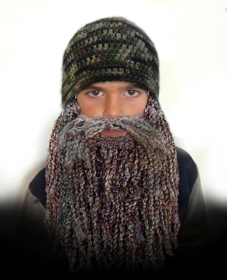 Duck Dynasty Hat And Beard Easy Crochet Pattern