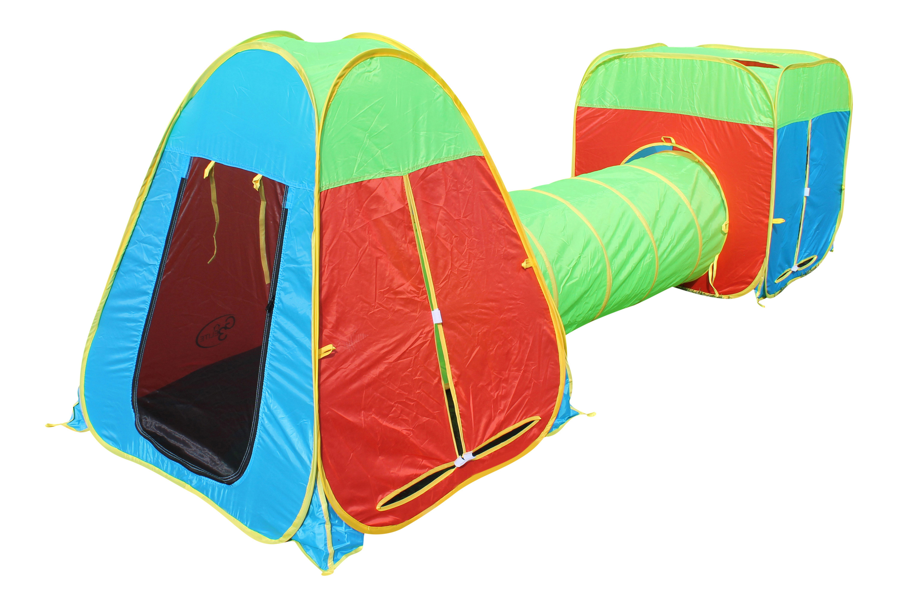 Multi-Color 3 Piece Pop-Up Play Tent  sc 1 st  G3Elite & Online Store | CA | G3Elite